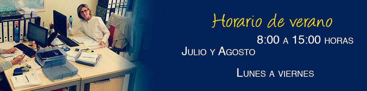 Horarios Verano 2019