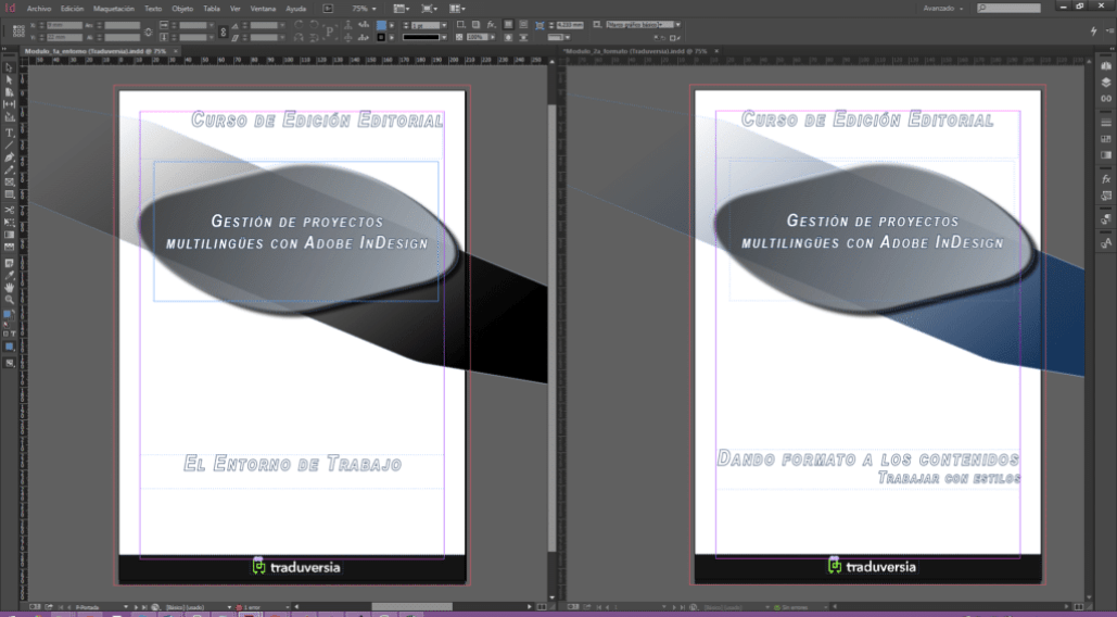 InDesign Documentos Alineados