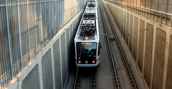 Expo Line in Los Angeles. (Photo Credit: Prayitno/Flickr)