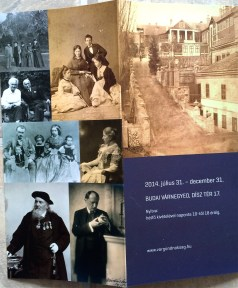 Family members of the early Zsolnay porcelain makers, and the Pécs, Hungary neighborhood where the factory is located (10-31-14)