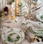 Herend Fleurs des Indes Vertes pattern (photo from Herend brochure)