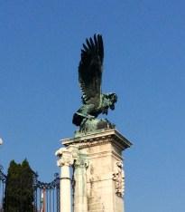 A closeup of the Turul bird (10-31-14)