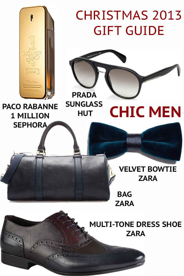 CHIC MEN gift guide