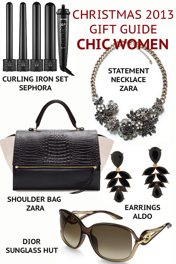CHIC WOMEN gift guide