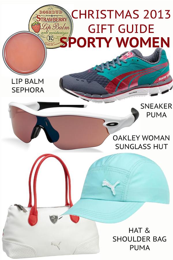 SPORTY WOMEN gift guide