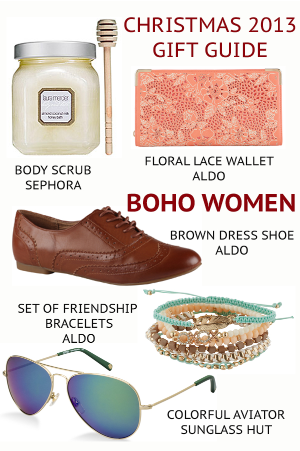 boho WOmen gift guide