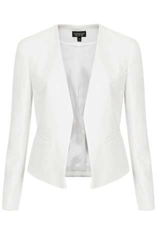 white blazer www.topshop.com