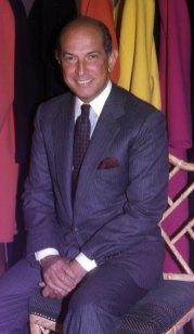 Portrait Of Oscar De La Renta