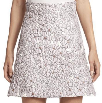 GIAMBA - Floral jacquard Skirt