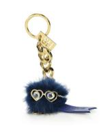 SOPHIE HULMA - Small Mink Fur Pom-Pom Keychain