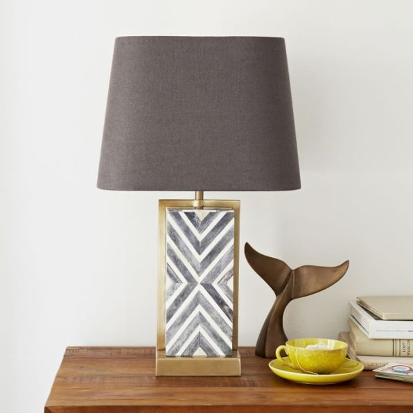 Chevron Deco Table Lamp