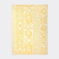 Patterned Stripe wool rug