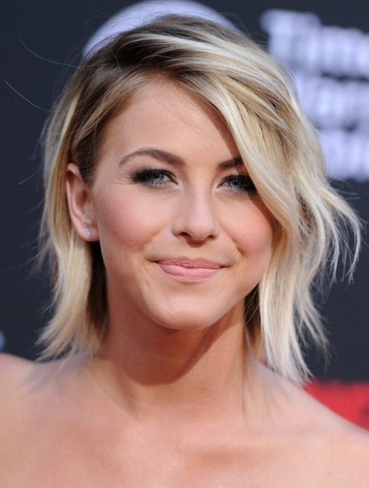 Celebrity-Cute-Short-Ombre-Haircut
