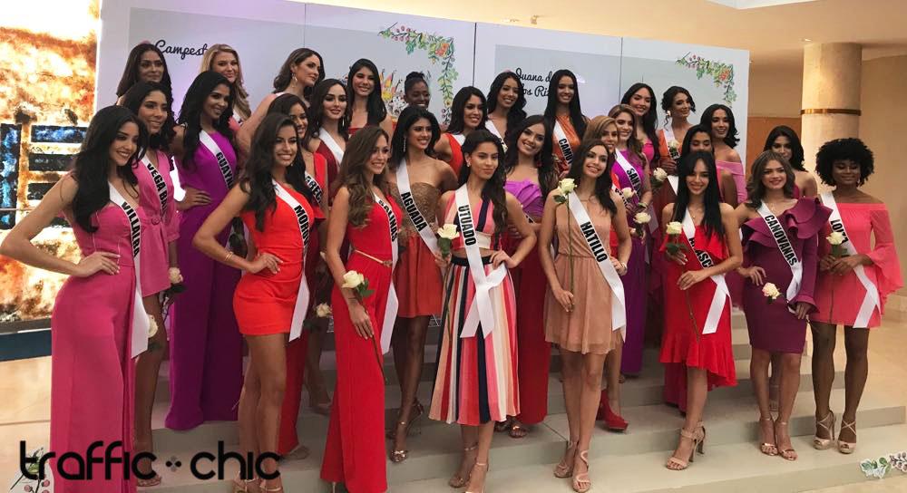 Presentan las candidatas a Miss Universe Puerto Rico 2019