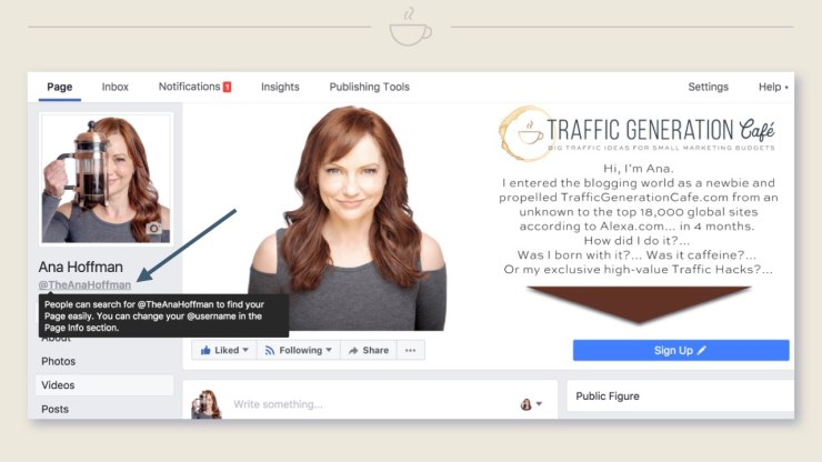 How to switch your FB Page to Public Figure Page