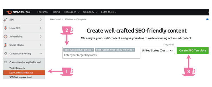 Start using SEO Content Template