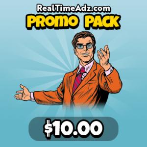 RealTimeAdz.com Promo Pack