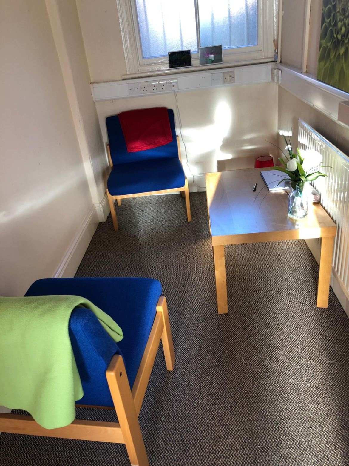 The TRC counselling room