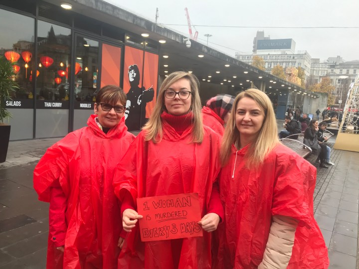 Trafford Rape Crisis marks beginning of 16 Days of Activism with Dead Women Walking March