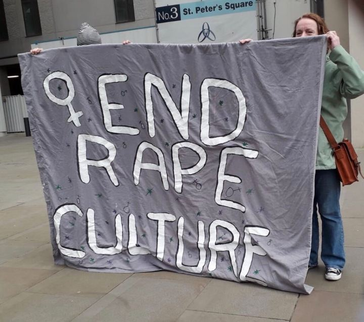 TRC joins performance of rape protest flash mob in St Peters Square