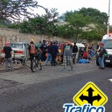 Moto taxi accidente Tráfico ZMG