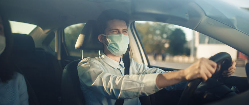 Bruk av munnbind ved trafikkskolene