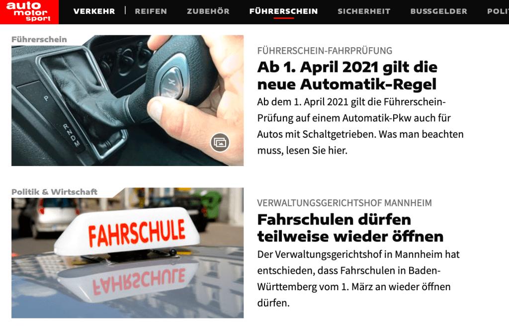 Tyskland: Ny automatregel fra 1. april