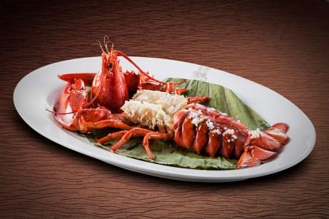 蘇浙匯 - Steamed Lobster with Yellow Wine