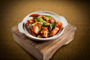 鹿港小鎮 - Three Cup Lobster