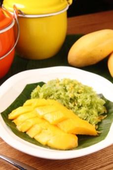芒果班蘭糯米飯 (澳門幣48元)