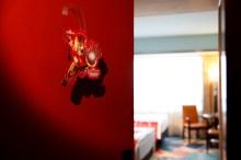 Disney's Hollywood Hotel_Iron Man themed overlay_Door Sticker