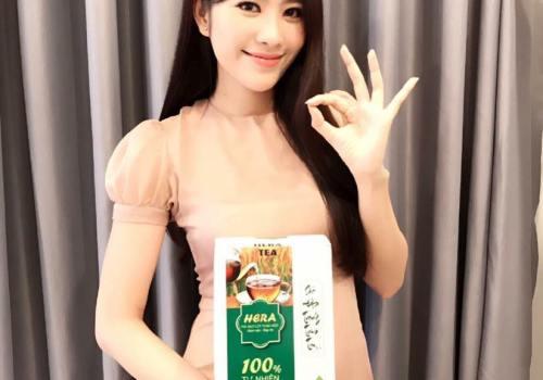 Cảm ơn Hoa hậu Đồng bằng Sông Cửu Long, Top 8 Hoa Hậu Trái Đất Nguyễn Lệ Nam Em đã tin tưởng sử dụng trà giảm cân Hera