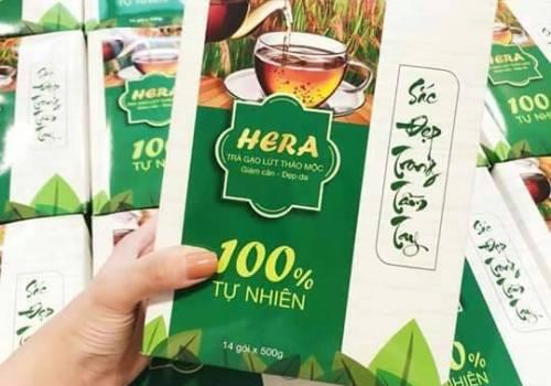 trà giảm cân hera tea