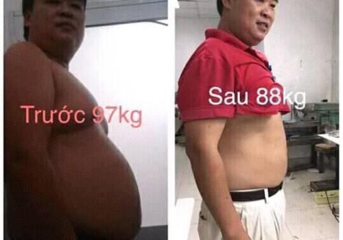 trà giảm cân hera plus giảm cân cho nam giới