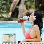 Uống trà giảm cân hera plus để cơ thể nhẹ tênh như một cành hoa