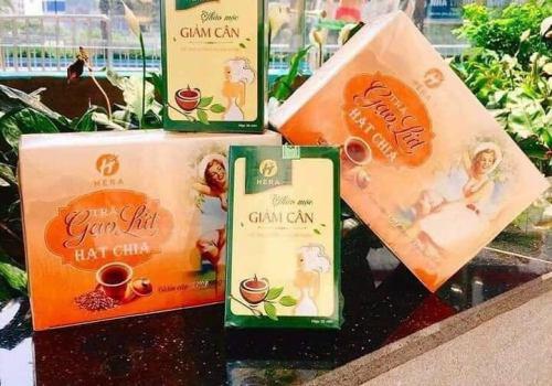 trà giảm cân hạt chia hera hiệu quả