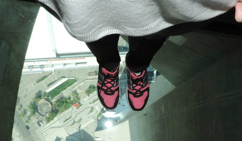 Vista cenital desde la torre cn Toronto