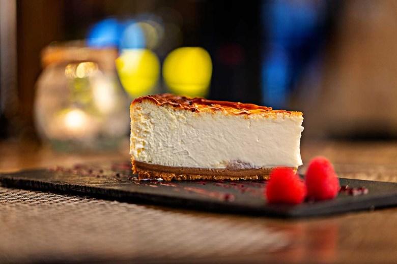 Tarta de queso de La Tasca del Retiro (Madrid)