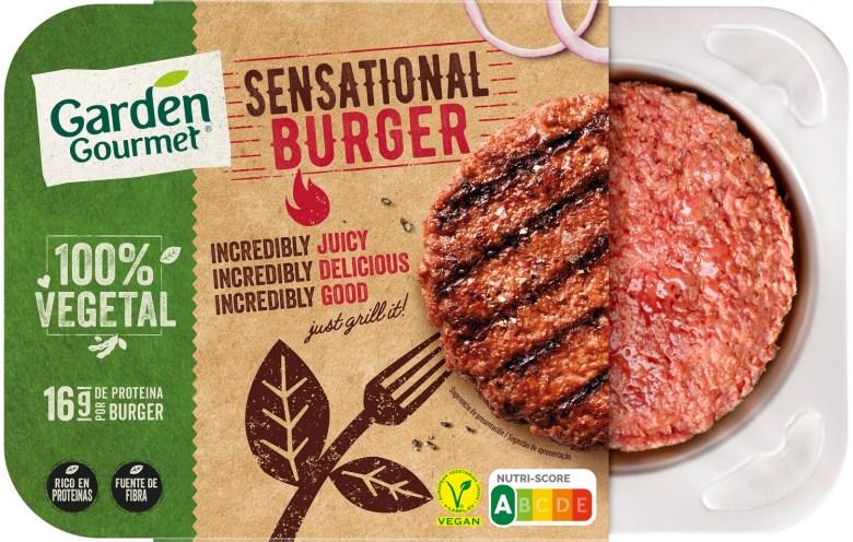 Garden Gourmet Sensational Burger de Nestlé