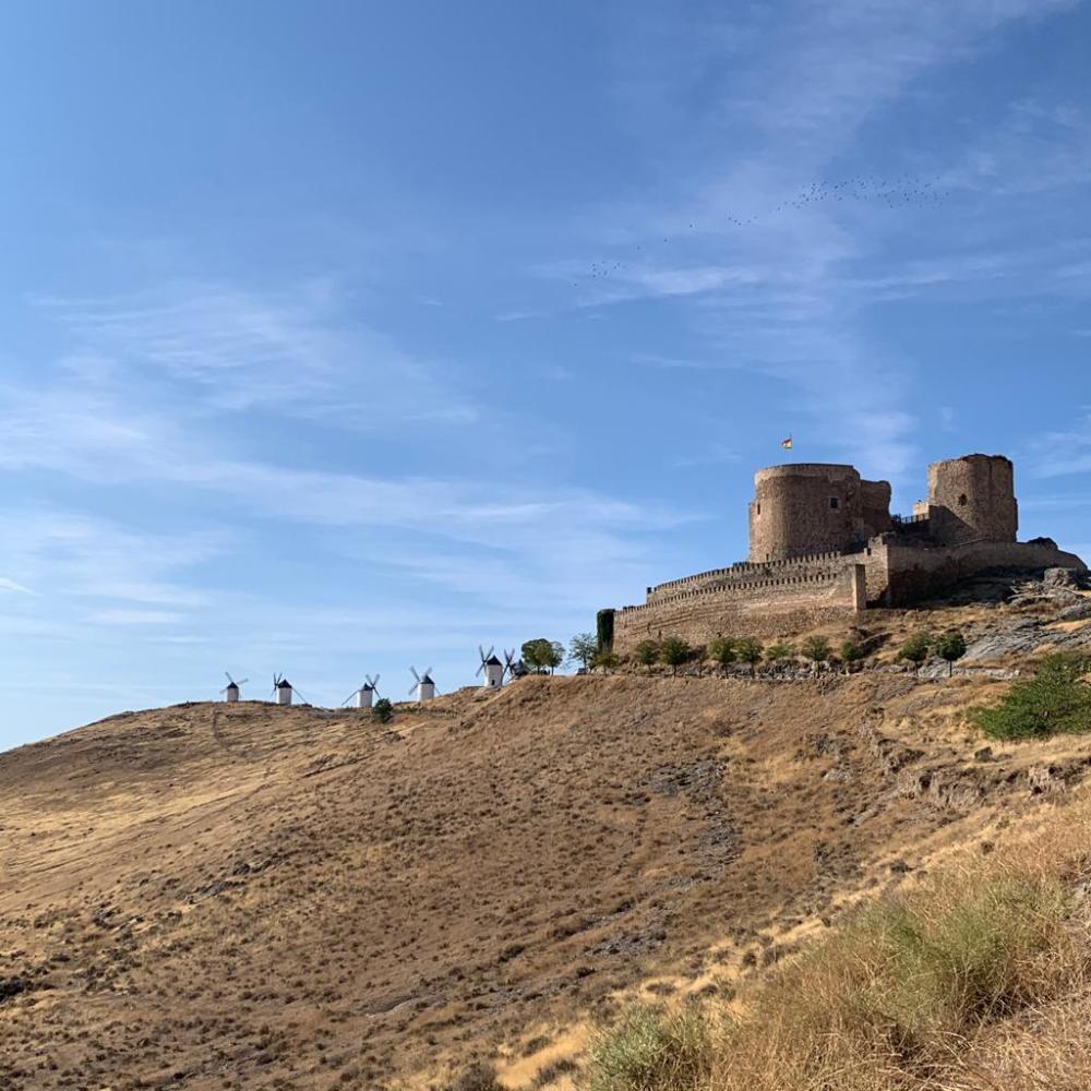Castillo y molinos de Consuegra