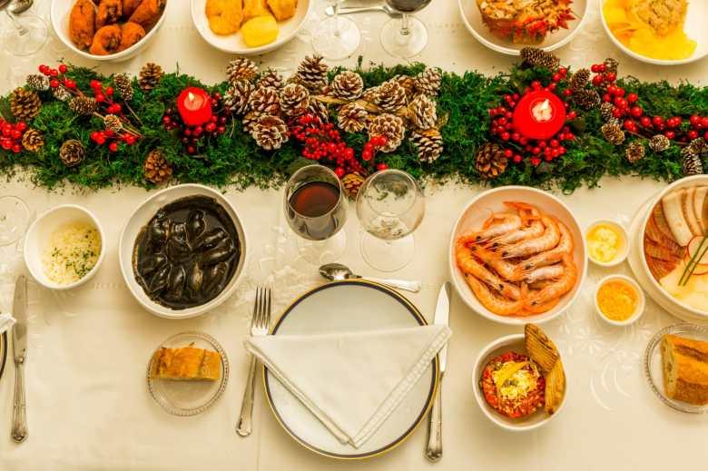 Cena a domicilio para Navidad de Hevia