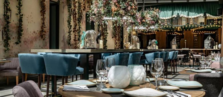 Restaurantes abiertos en Navidad: Restaurante NoMad (Vinci Soho, Madrid)