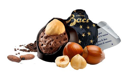 Chocolates italianos Baci Perugina