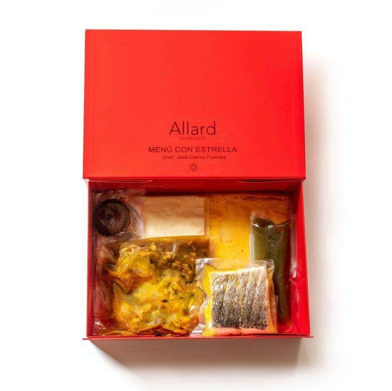 Ideas San Valentín: menú con estrella