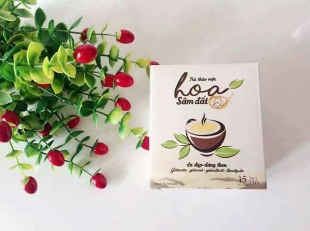 hãy nhớ khởi động ngày mới với ly trà hoa sâm đất nhé!