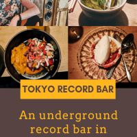 A Day in the Life: Tokyo Record Bar Restaurant Review