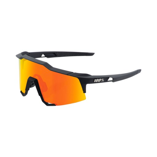 100% Speedcraft Brille Tall Soft Tact Black