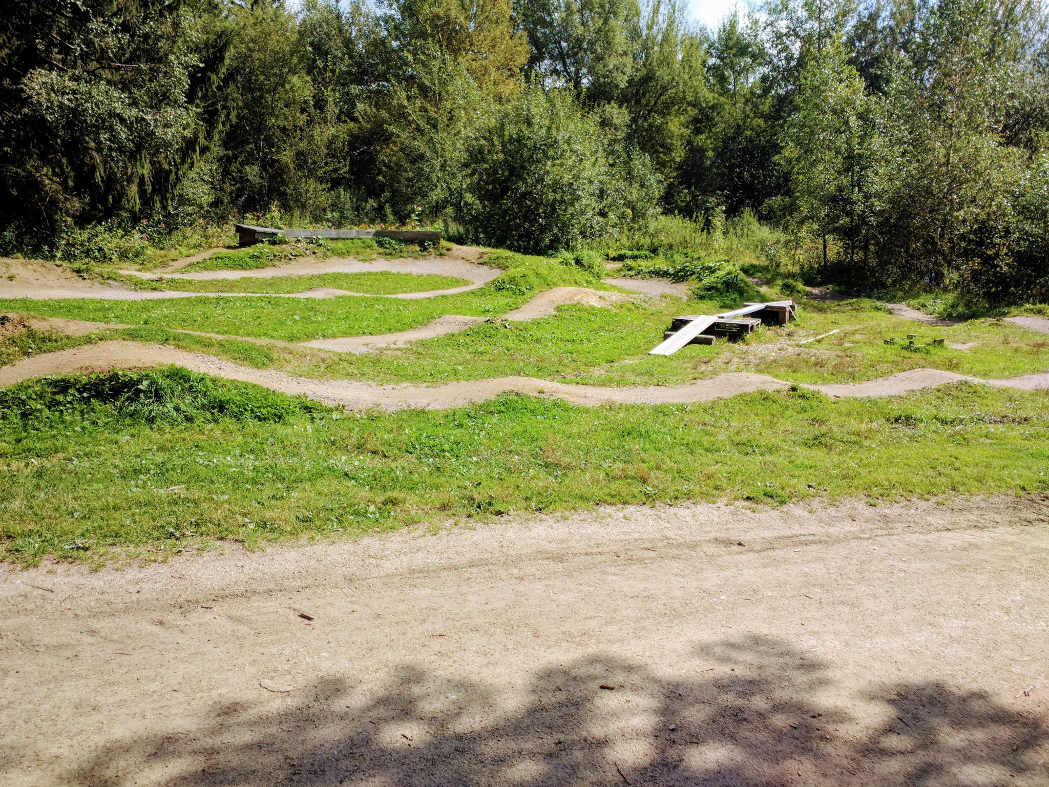 Pumptrack in Sankt Englmar