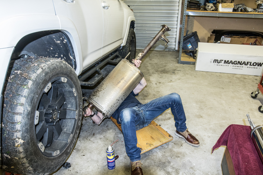 magnaflow catback exhaust install 5th