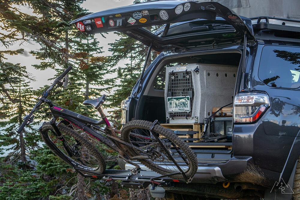 toyota 4runner bike rack